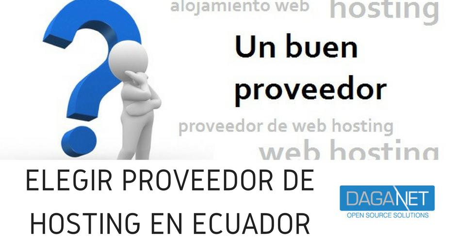 proveedor de hosting ecuador