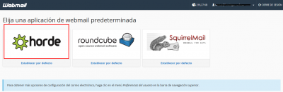webmail horde