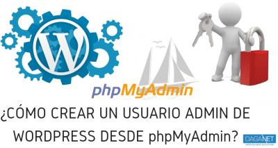 Cómo crear un usuario administrador de WordPress sin tener acceso al panel de administración